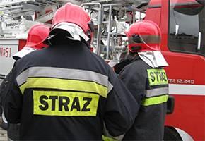 Kronika policyjna, Wypadek Dwoje poszkodowanych szpitalach - zdjęcie, fotografia