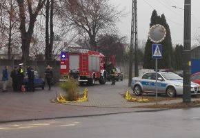 Wypadki i kolizje, Kolizja ulicy Chełmońskiego - zdjęcie, fotografia