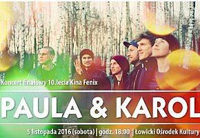 Koncerty, Paula Karol zagrają Łowiczu - zdjęcie, fotografia