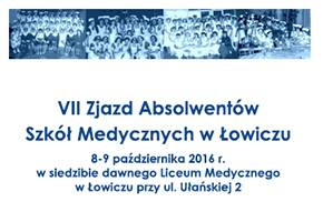 Edukacja, Absolwenci szkół medycznych spotkają Łowiczu - zdjęcie, fotografia