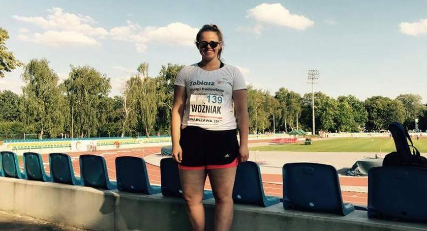 Lekkoatletyka, Srebro brąz Angeliki Woźniak - zdjęcie, fotografia