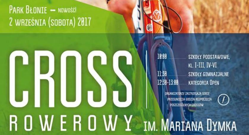 Kolarstwo, Cross rowerowy Mariana Dymka wraca Błonie - zdjęcie, fotografia