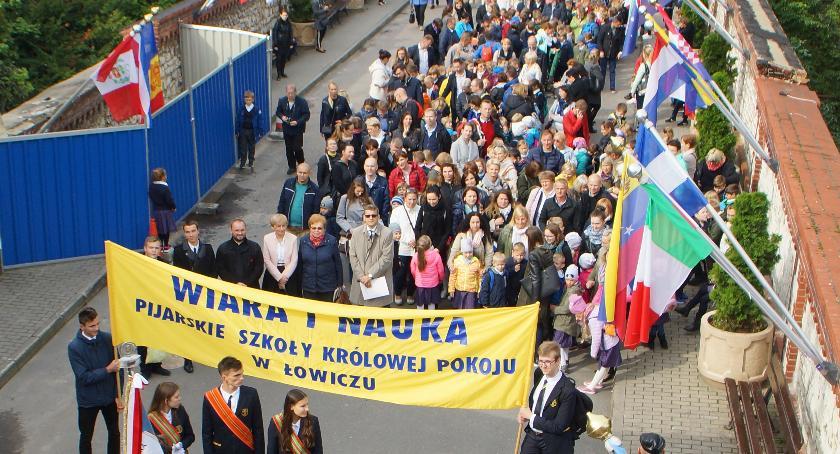 Edukacja, Społeczność Pijarskiej Łowicza Jasnej Górze - zdjęcie, fotografia