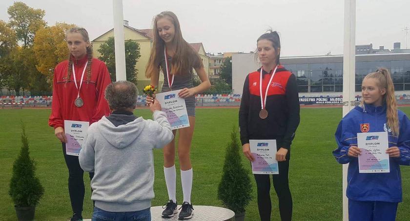 Lekkoatletyka, Weronika Kaźmierczak obroniła tytuł mistrzyni Polski - zdjęcie, fotografia
