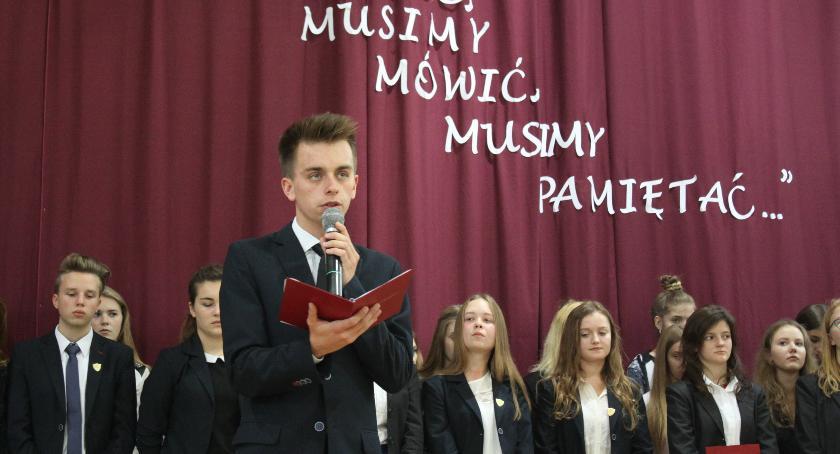 Edukacja, Dzień Sybiraka Łowiczu - zdjęcie, fotografia