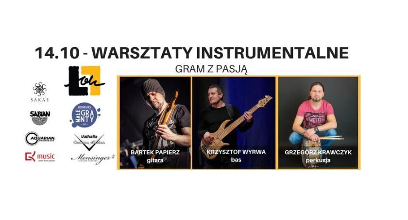 """Warsztaty, """"Gram pasją"""" warsztaty instrumentalne Łowiczu - zdjęcie, fotografia"""