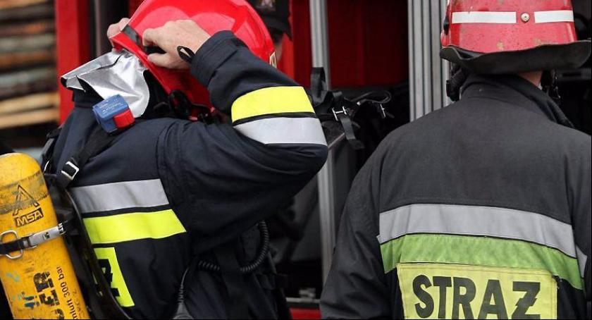 Interwencje straży pożarnej, Wygodzie dymem poszło - zdjęcie, fotografia