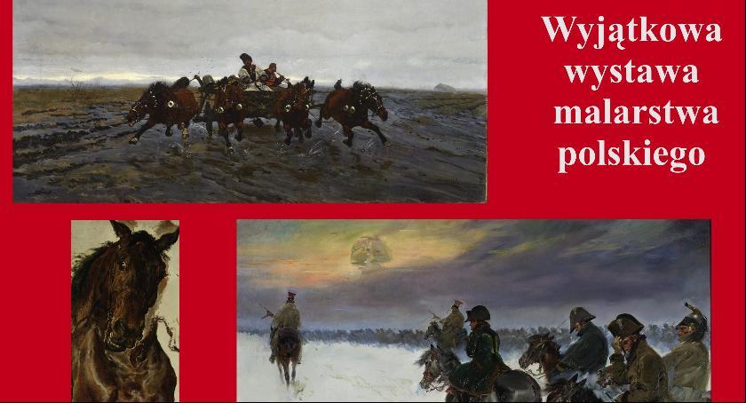 Wystawy, Wystawę malarstwie polskim można oglądać listopada - zdjęcie, fotografia