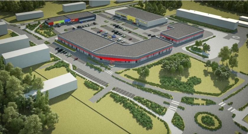 Gospodarka, Premium Łowicz powstanie duże centrum handlowe działce jednostce wojskowej - zdjęcie, fotografia