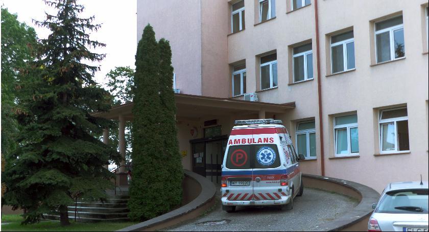 Szpital i opieka społeczna, Podpalił izbie przyjęć Łowiczu - zdjęcie, fotografia