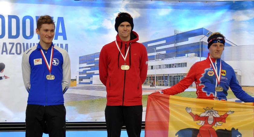 Łyżwiarstwo szybkie, Panczenista Artur Janicki młodzieżowym mistrzem Polski - zdjęcie, fotografia