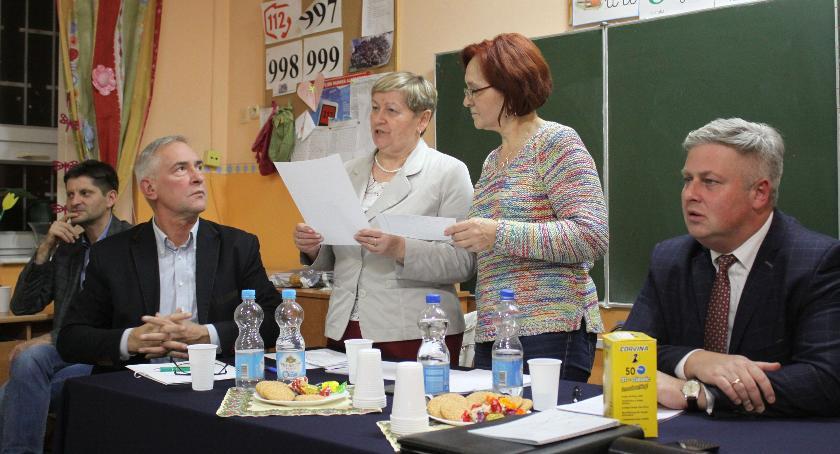 Zarządy osiedli, Zebrania mieszkańców osiedle Starzyńskiego - zdjęcie, fotografia