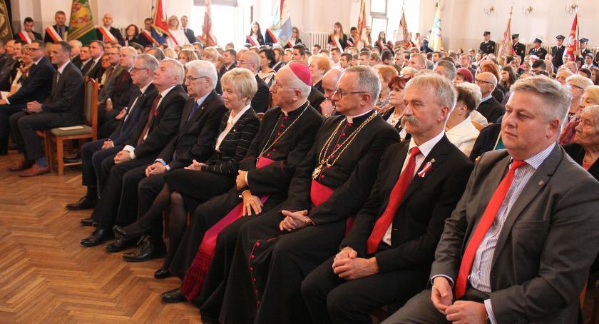 Uroczystości patriotyczne, Obchody Święta Niepodległości Łowiczu (zdjęcia) - zdjęcie, fotografia