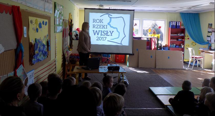 Edukacja, Wyszogrodzie poznawali Wisłę - zdjęcie, fotografia