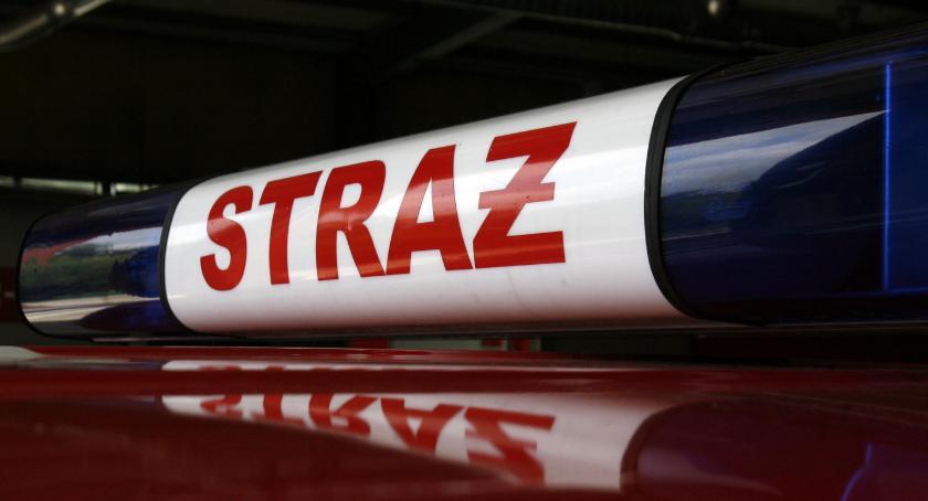 Interwencje straży pożarnej, Wybuch butli gazem Jackowicach Poszkodowany latek - zdjęcie, fotografia