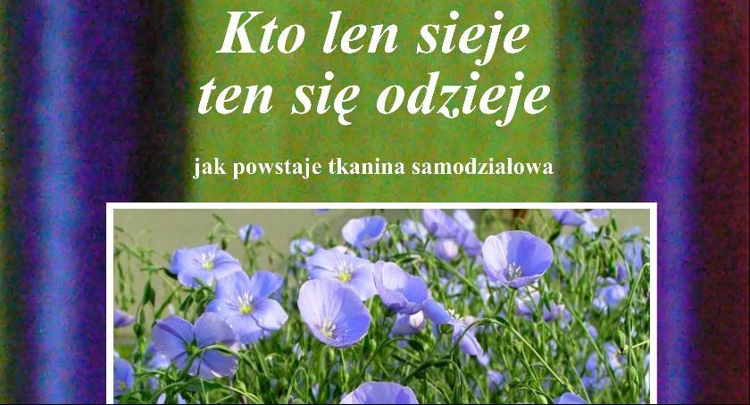 Warsztaty, Niedzielne warsztaty tkackie Muzeum Łowiczu - zdjęcie, fotografia