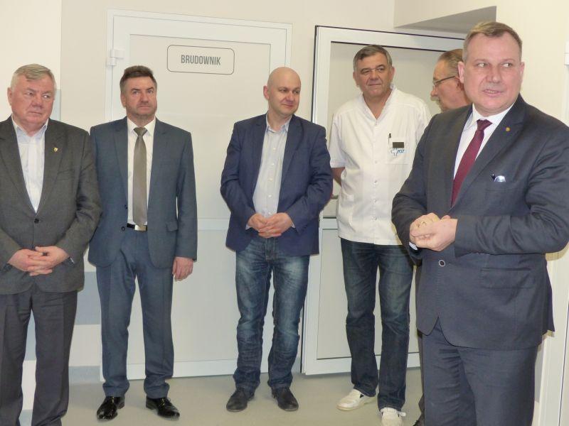 Szpital i opieka społeczna, Łowicka interna oficjalnie otwarta - zdjęcie, fotografia