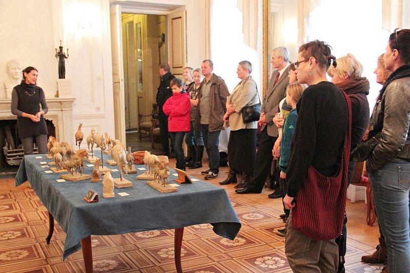 Wystawy, Rzeźby ceramicznych Walewicach - zdjęcie, fotografia