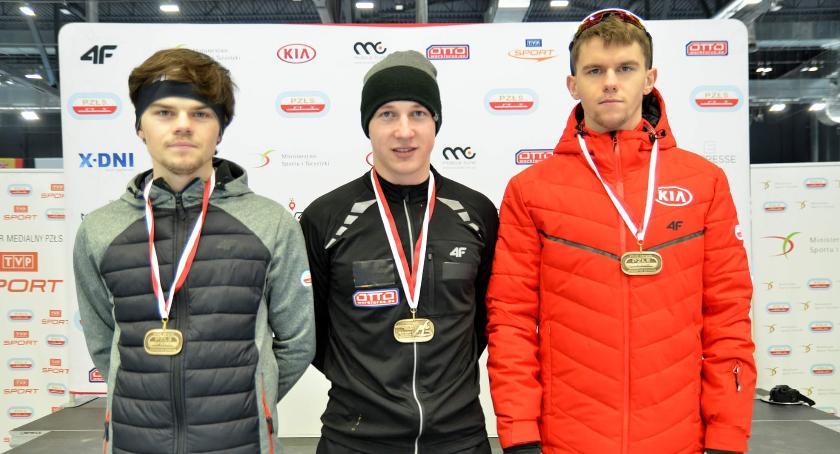 Łyżwiarstwo szybkie, Panczeniści Błyskawicy Domaniewice medalistami mistrzostw Polski - zdjęcie, fotografia