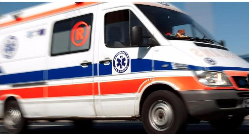 Wypadki i kolizje, Skoda dachowała zderzeniu fiatem - zdjęcie, fotografia