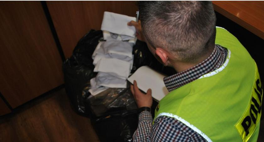 Kronika policyjna, Złodziej skarpetek rękach policji Grozi więzienia - zdjęcie, fotografia