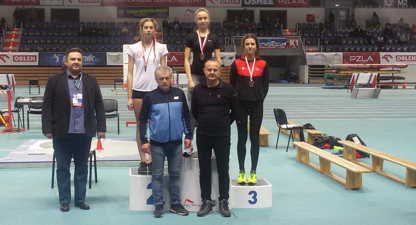 Lekkoatletyka, Triumf Weroniki Kaźmierczak Tomka Wieteski - zdjęcie, fotografia