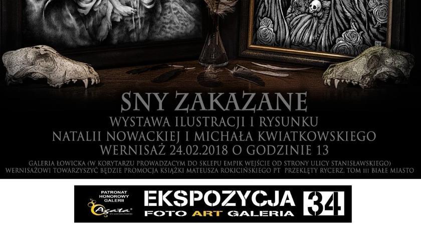 Wystawy, Wernisaż wystawy promocja książki Łowiczu - zdjęcie, fotografia