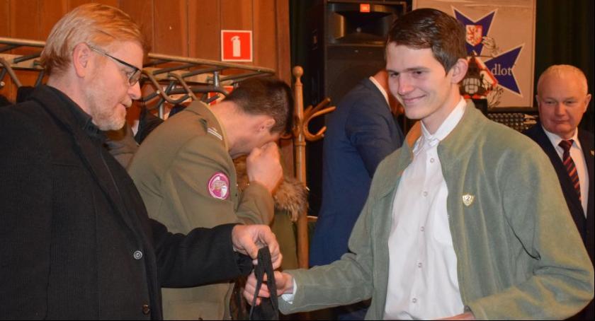 Edukacja, Uczeń Blichu będzie reprezentował powiat konkursie żołnierzach wyklętych - zdjęcie, fotografia
