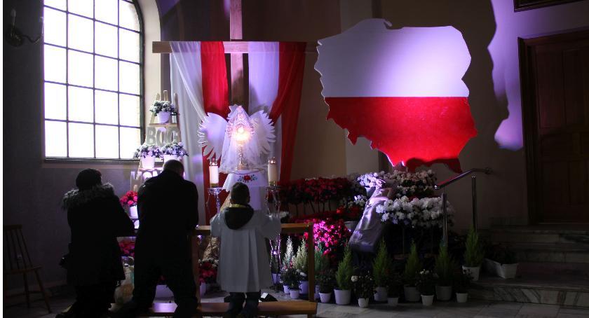 Kościół, Groby Pańskie kościołach Łowiczu - zdjęcie, fotografia