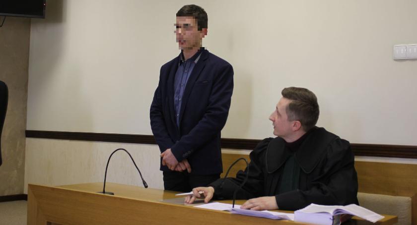 Z sali rozpraw, latek Łowicza zakatował Wkrótce usłyszy wyrok - zdjęcie, fotografia