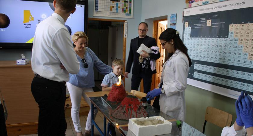 Edukacja, Dzień otwarty Pijarskiej - zdjęcie, fotografia