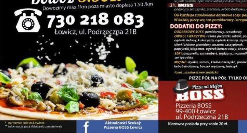 Konkursy, Wygraj vouchery Pizzerii Łowiczu KONKURS - zdjęcie, fotografia