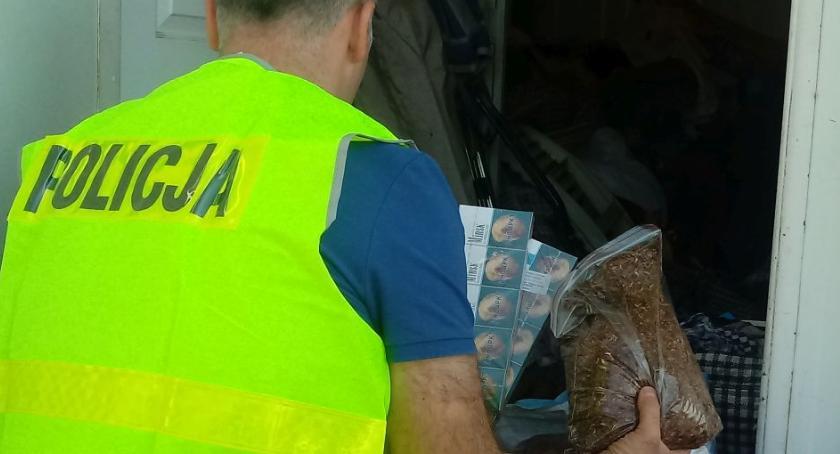 Kronika policyjna, Kolejna akcja policjantów funkcjonariuszy Urzędu Celno Skarbowego wymierzona przestępstwa akcyzo - zdjęcie, fotografia