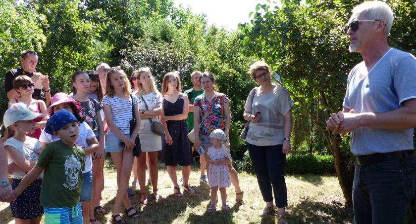 Spotkania, Urodzinowe zwiedzanie zamku Łowiczu - zdjęcie, fotografia