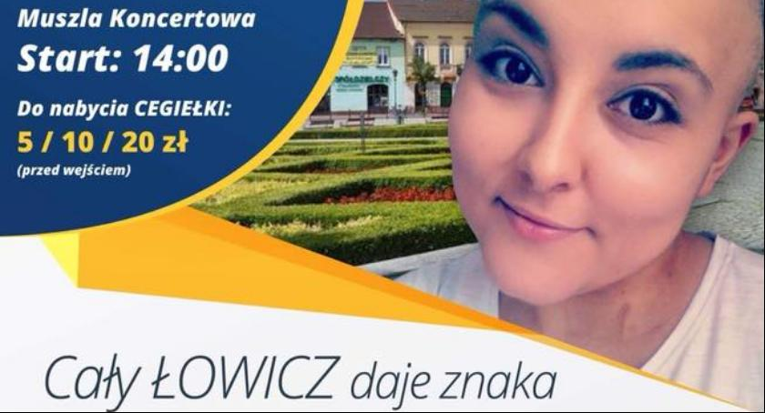 Wasze sprawy, Cały Łowicz znaka Magdy koncert charytatywny - zdjęcie, fotografia