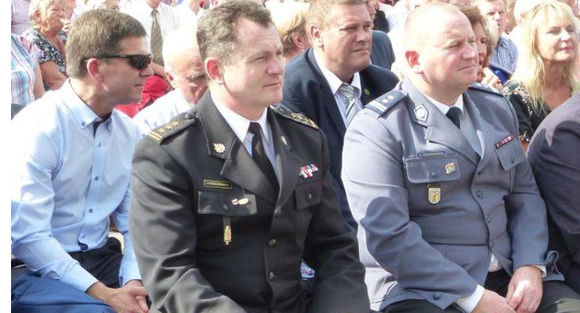Interwencje straży pożarnej, Jacek Szeligowski przechodzi emeryturę - zdjęcie, fotografia