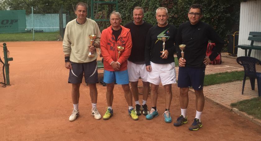 Inne, Łowicz wyniki turnieju debla tenisie ziemnym Statuetka Stanisława Dańczaka - zdjęcie, fotografia
