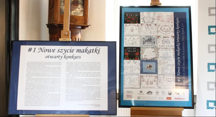 Wystawy, Wernisaż wystawy makatek Muzeum Łowiczu - zdjęcie, fotografia