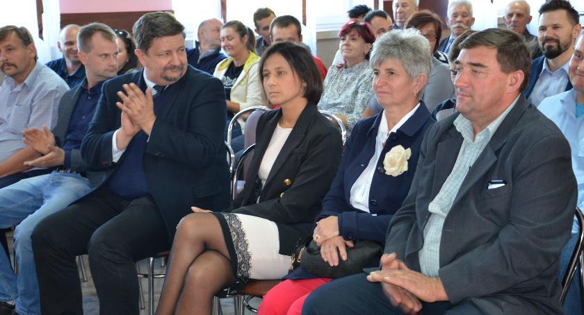 Wybory 2018, Spotkanie kandydatką wójta gminy Łowicz - zdjęcie, fotografia