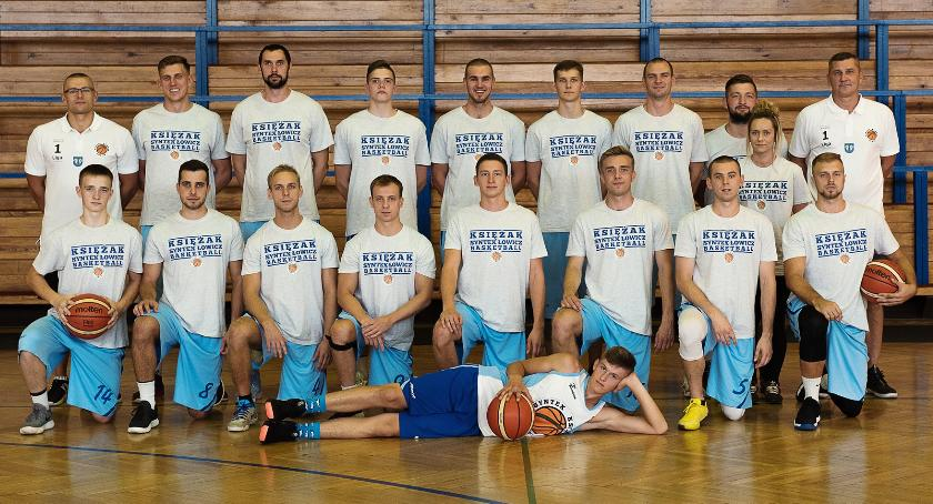 Koszykówka, Porażka Księżaka Synteksu derbach regionu Kolejny sobotę - zdjęcie, fotografia
