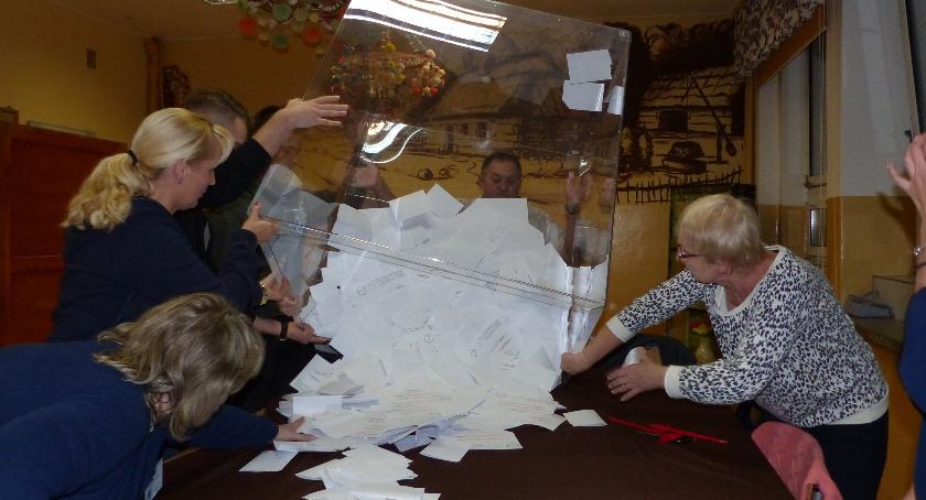 Wybory 2018, Wybory frekwencja Łowiczu gminach powiatu łowickiego - zdjęcie, fotografia