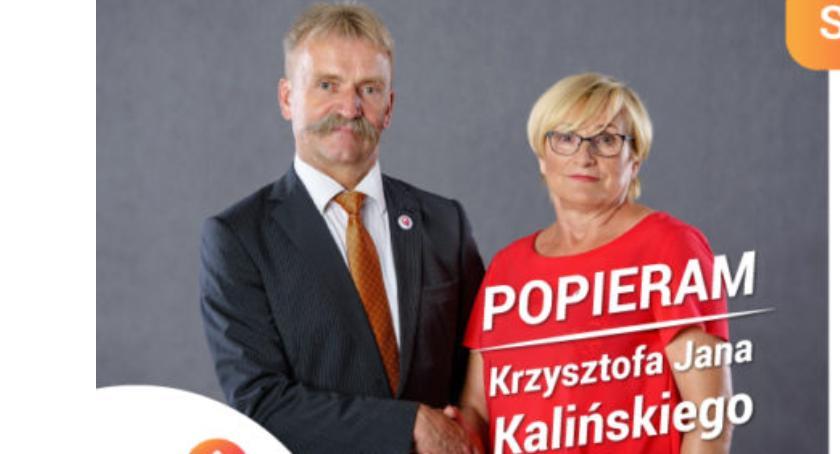 Wybory 2018, Łowicz Wiesława Gębura mandatem radnej - zdjęcie, fotografia