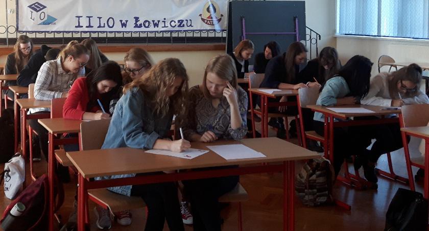 Edukacja, Olimpiada wiedzy HIV/AIDS Łowiczu - zdjęcie, fotografia