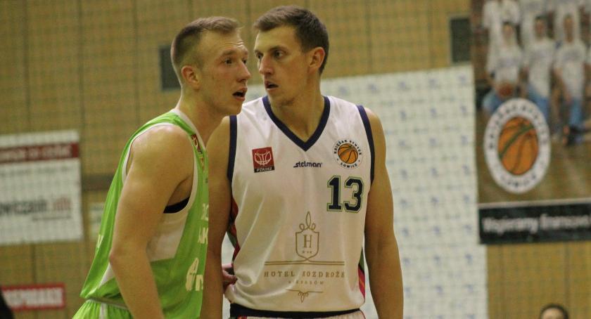 Koszykówka, Siedlec tarczy Siódma ligowa porażka Księżaka Synteksu - zdjęcie, fotografia