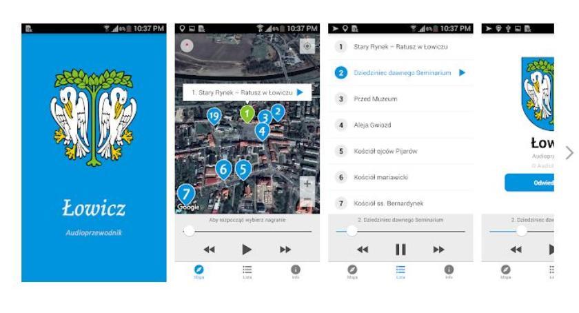 Urząd Miejski, Audioprzewodnik Łowiczu Zwiedzaj miasto aplikacją mobilną - zdjęcie, fotografia