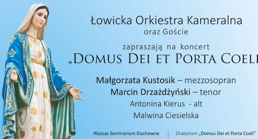 Koncerty, Łowicka Orkiestra Kameralna zaprasza koncert oratoryjny - zdjęcie, fotografia