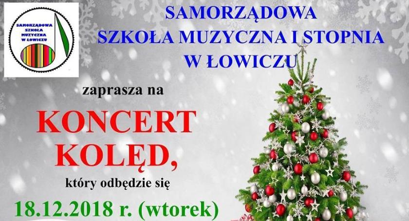 Koncerty, Samorządowa Szkoła Muzyczna zaprasza świąteczny koncert - zdjęcie, fotografia