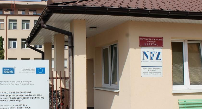 Starostwo Powiatowe, Remont szpitala znakiem zapytania - zdjęcie, fotografia