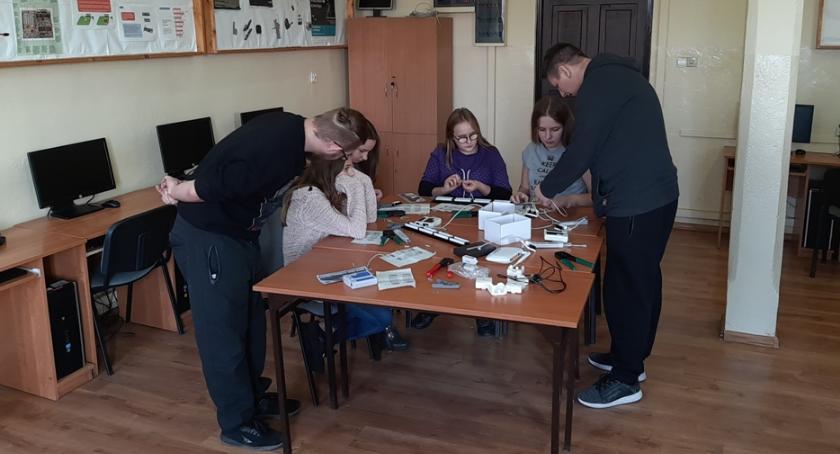 Edukacja, Otwarte zajęcia zawodowe kierunków technicznych Łowiczu - zdjęcie, fotografia