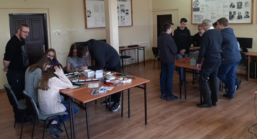 Warsztaty, Otwarte zajęcia zawodowe kierunków technicznych Łowiczu - zdjęcie, fotografia